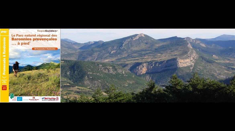 Le parc naturel régional des Baronnies Provençales à pied