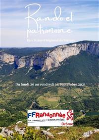 Séjour de la FFRandonnée Drôme du 20 au 24 Septembre 2021